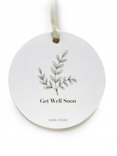 Get Well Soon Gift Tag