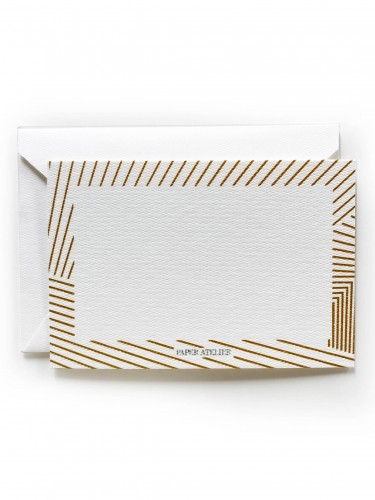 Gold Stripes Gift Card
