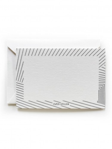 Silver Stripes Gift Card