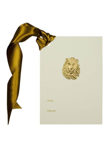 Lion's Head Gift Tag