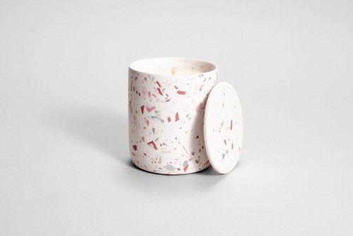 Cuddle Pink Terrazzo Candle