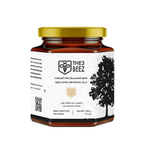 The3Beez Sider Honey with Royal Jelly