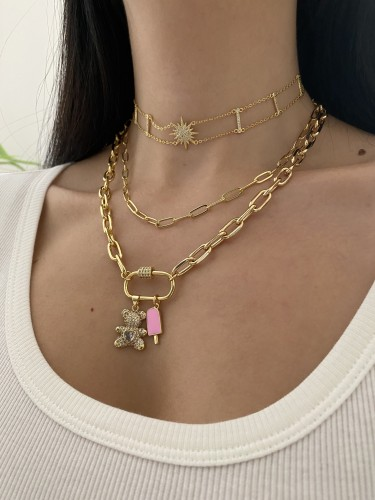 BEAR Chain Necklace