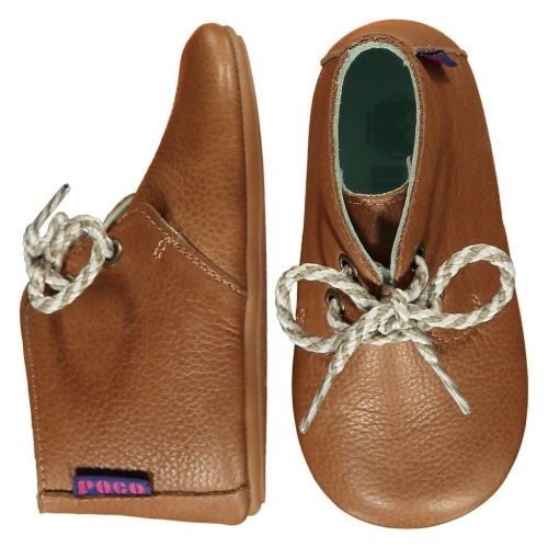 LEATHER MIGHTY SHOES - Tan